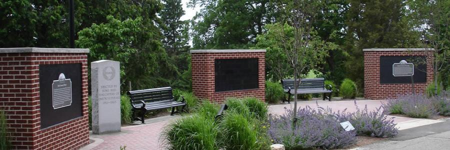 The Columbarium at Summit Cemetery was dedicated in October 2010.